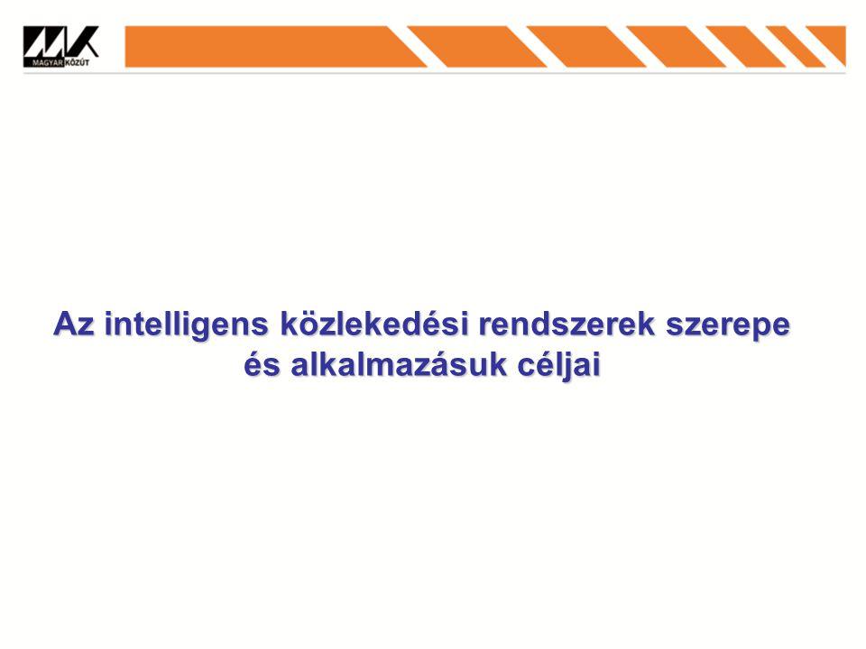 Az intelligens közlekedési rendszerek szerepe és alkalmazásuk céljai