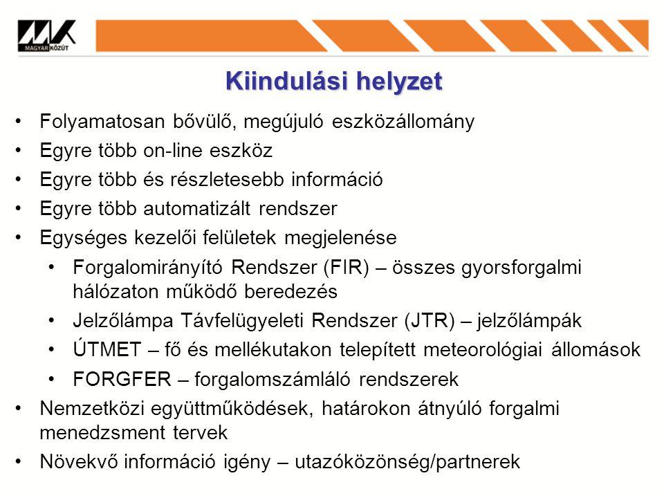 Forgalomirányítás/szenzorok a hálózaton