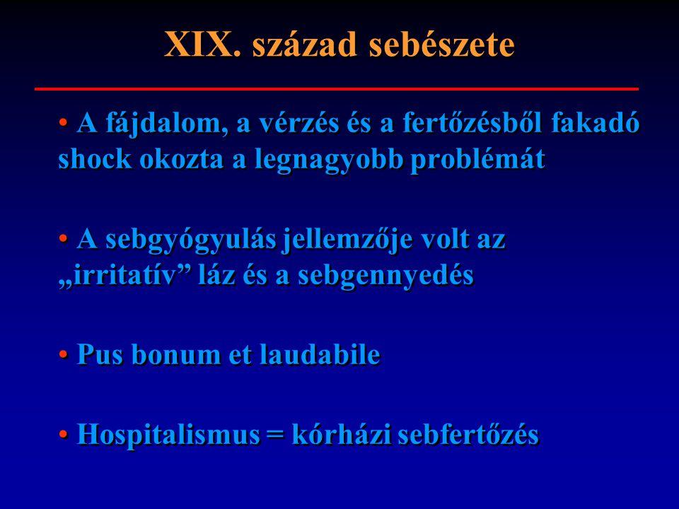 Sebfertőzések Kontakt, aerogén,haematogén Endogen, exogen specifikus, aspecifikus Elősegítő tényező: kültakaró sérülése, vérellátási zavar, nem kielégítő sebellátás, idegentest implantációja, anaemia, diabetes mellitus, cirrhosis hepatis, tumoros betegségek, adipositas, cachexia, immunosuppressio Kontakt, aerogén,haematogén Endogen, exogen specifikus, aspecifikus Elősegítő tényező: kültakaró sérülése, vérellátási zavar, nem kielégítő sebellátás, idegentest implantációja, anaemia, diabetes mellitus, cirrhosis hepatis, tumoros betegségek, adipositas, cachexia, immunosuppressio
