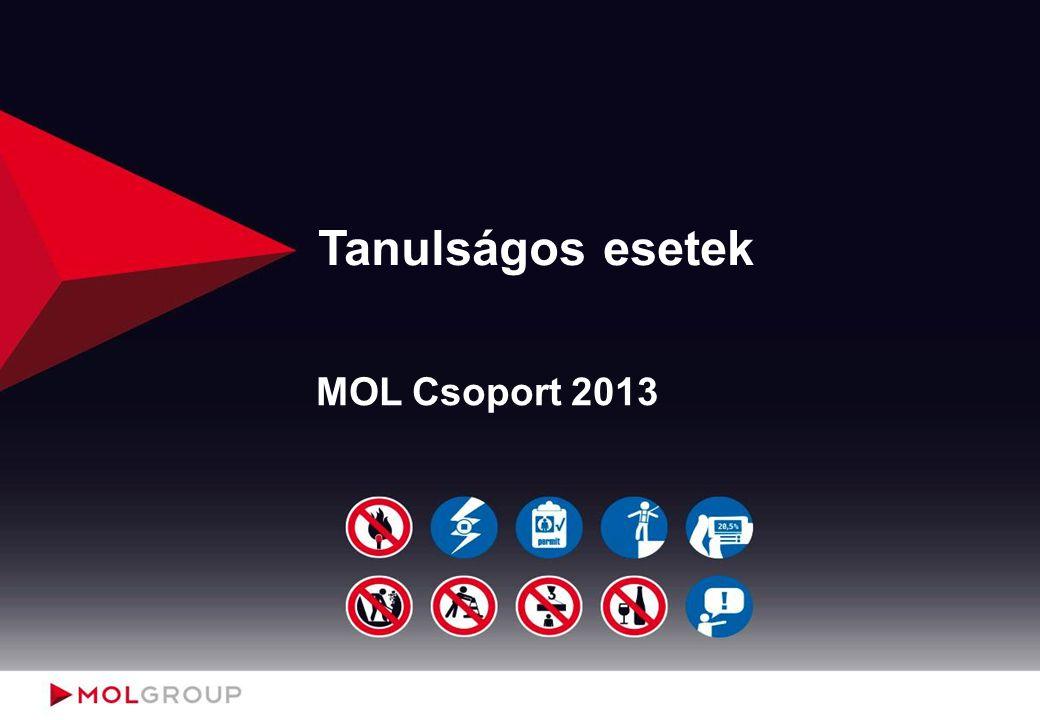 Alvállalkozói áramütéses baleset Dunai Finomító - 2013.