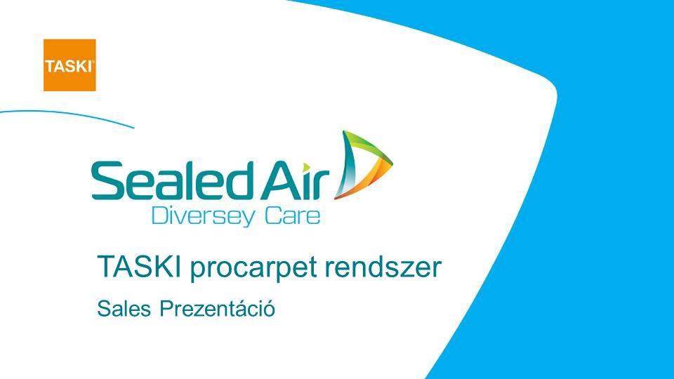 TASKI procarpet rendszer Sales Prezentáció