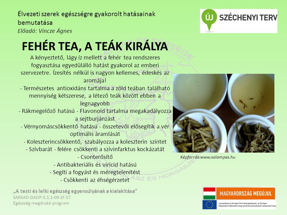 FEHÉR TEA, A TEÁK KIRÁLYA A kényeztető, lágy íz mellett a fehér tea rendszeres fogyasztása egyedülálló hatást gyakorol az emberi szervezetre.