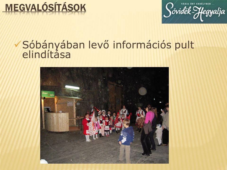 3 db. információs térkép felállítása Parajd községében