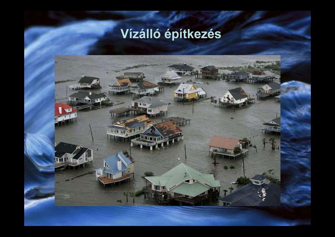 Mobil árvízvédelmi falak Raktározás, Előrejelzés, Fenntartás, Évenkénti gyakorlatozás, Instalálás, 3 m 2 / 5 perc, Vandálbiztos kialakítás, Nem számszerűsíthető hasznok