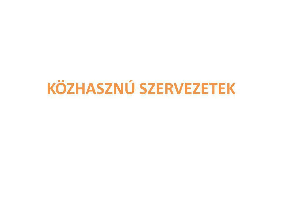 irányadó jogszabályok: az egyesületi jogról, a közhasznú jogállásról, valamint a civil szervezetek működéséről és támogatásáról szóló 2011.