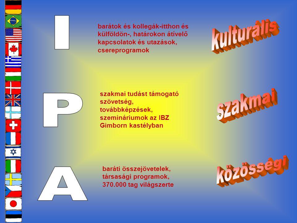 …helyi, regionális, országos és nemzetközi találkozók, közös hobbi és érdeklődési kör