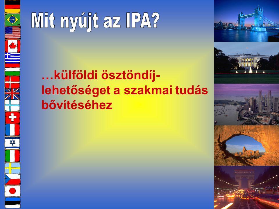 …szálláslehetőséget az IPA Házak rendszerében, itthon és külföldön is, elérhető árakon