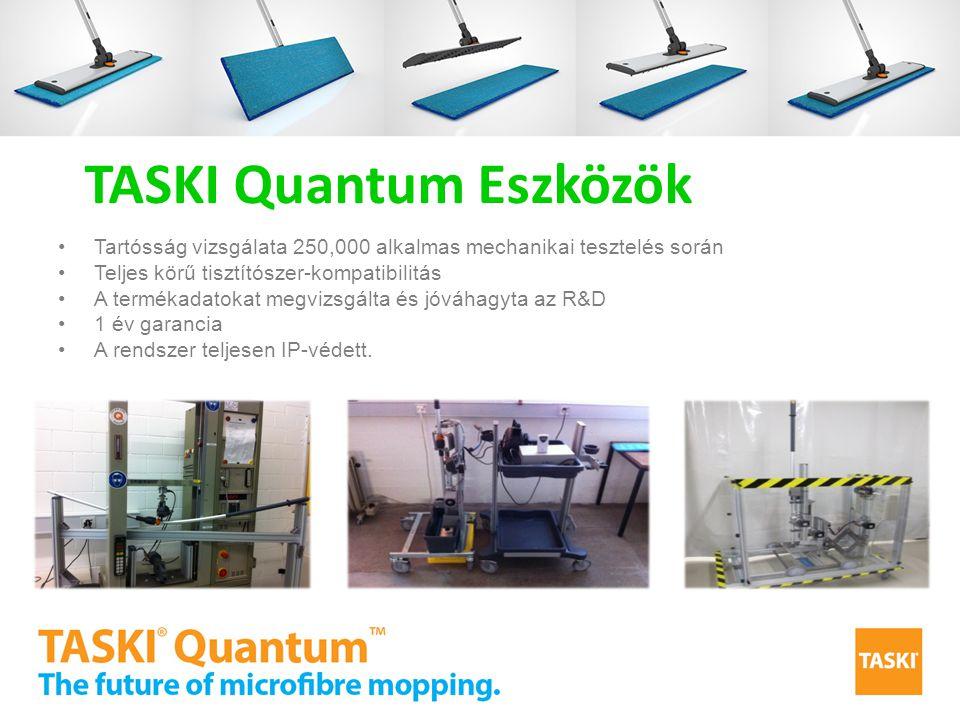 Tartósság vizsgálata 250,000 alkalmas mechanikai tesztelés során Teljes körű tisztítószer-kompatibilitás A termékadatokat megvizsgálta és jóváhagyta a
