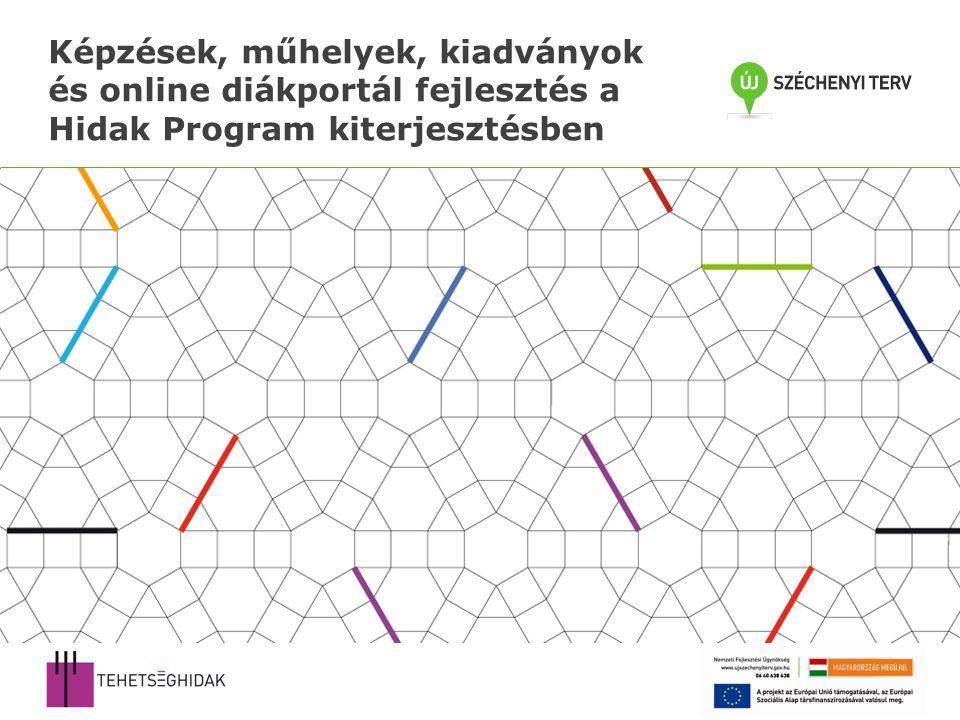 Képzések, műhelyek, kiadványok és online diákportál fejlesztés a Hidak Program kiterjesztésben