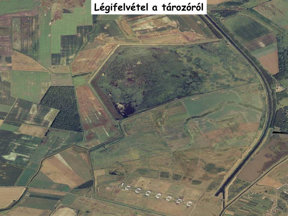 Légifelvétel a tározóról