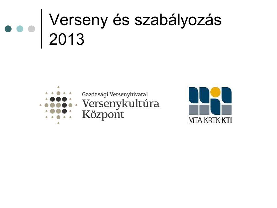 Verseny és szabályozás 2013