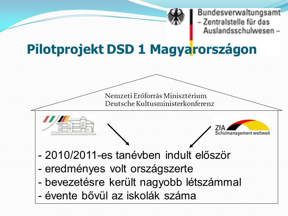 Nemzeti Erőforrás Minisztérium Deutsche Kultusministerkonferenz - 2010/2011-es tanévben indult először - eredményes volt országszerte - bevezetésre ke