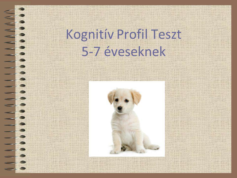 Kognitív Profil Teszt 1.