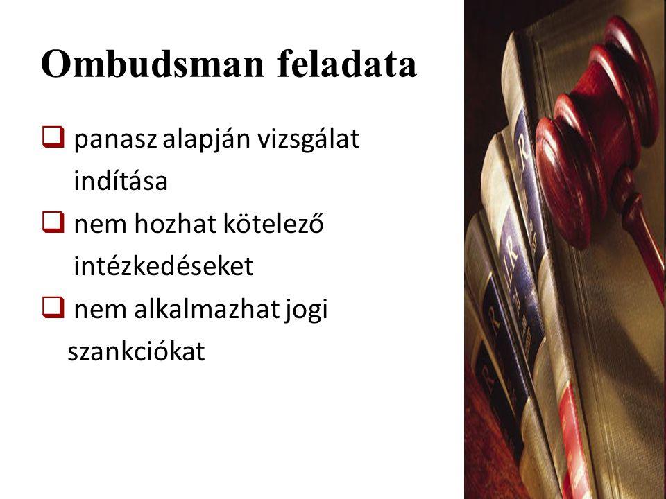 Magyarország ombudsmanjai Magyarország ombudsmanjai  Adatvédelmi biztos  Állampolgári jogok biztosa  Jövő nemzedékek országgyűlési biztosa  Nemzeti és etnikai kisebbségi jogok biztosa