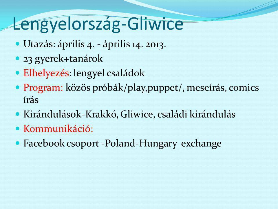 Lengyelország-Gliwice Utazás: április 4. - április 14.