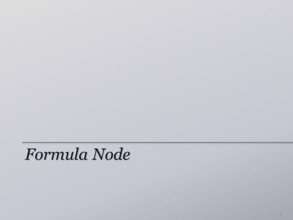 Formula Node 2