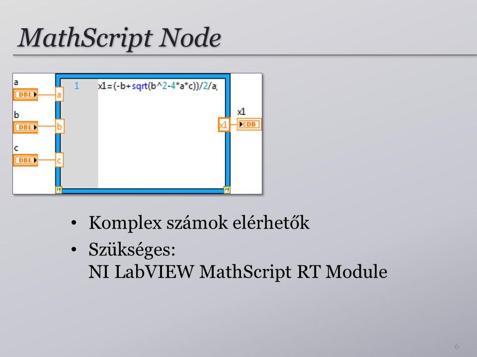 Kód beillesztését igénylő feladatok Előlap (Front Panel) Diagram (Block Diagram) Szükség esetén több kép is beilleszthető (Megfelelő képaláírással.) 27
