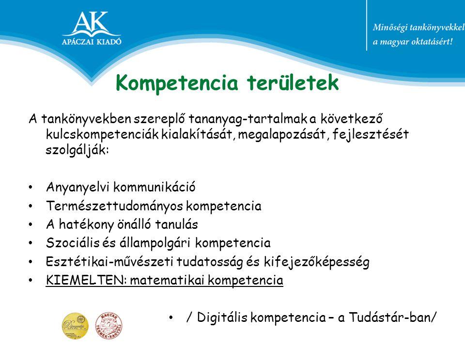 Néhány példa az egyes kompetenciák fejlesztéséhez Anyanyelvi kommunikáció: szöveges feladatok megoldása során