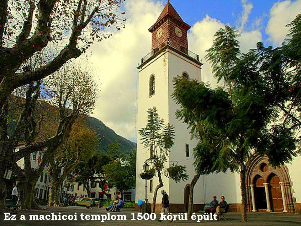 Ez a machicoi templom 1500 körül épült