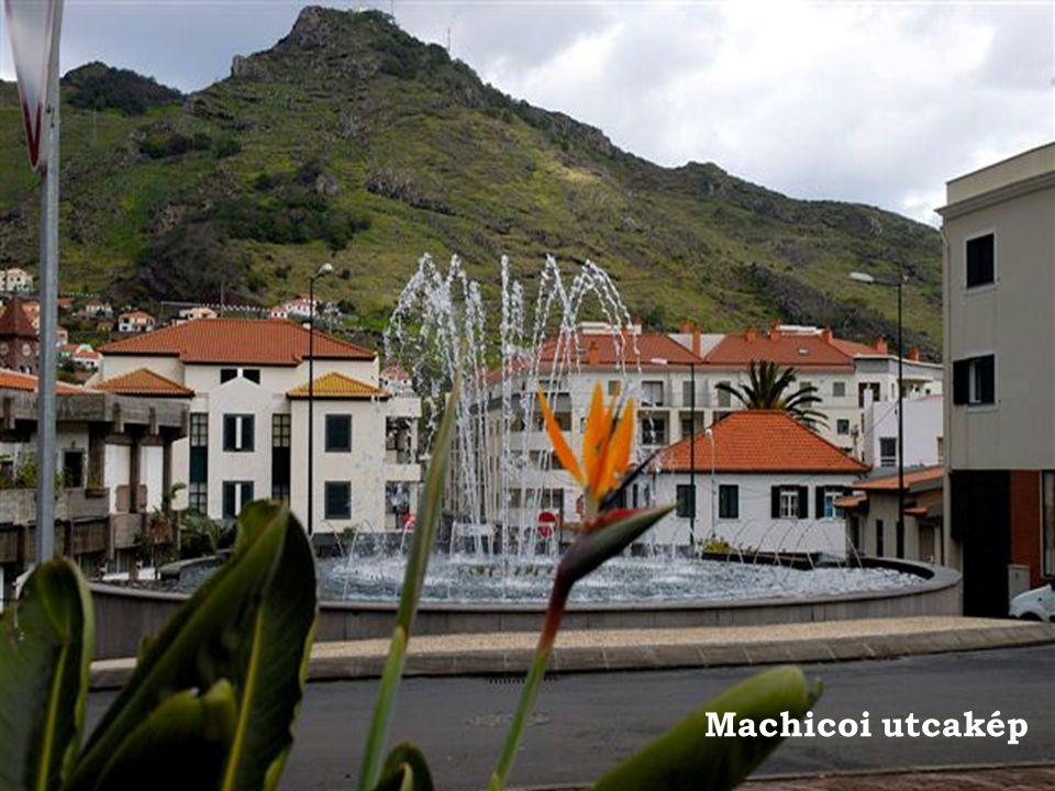Machico,csónakkikötő