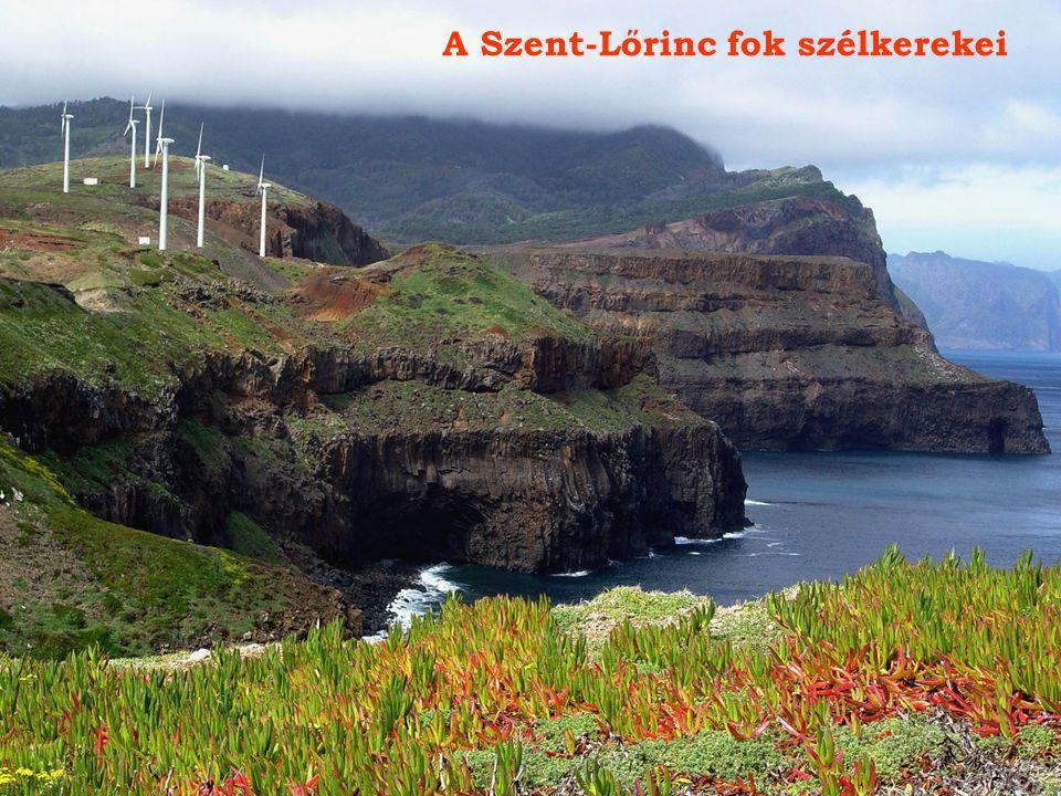 A Szent-Lőrinc fok, Madeira keleti vége