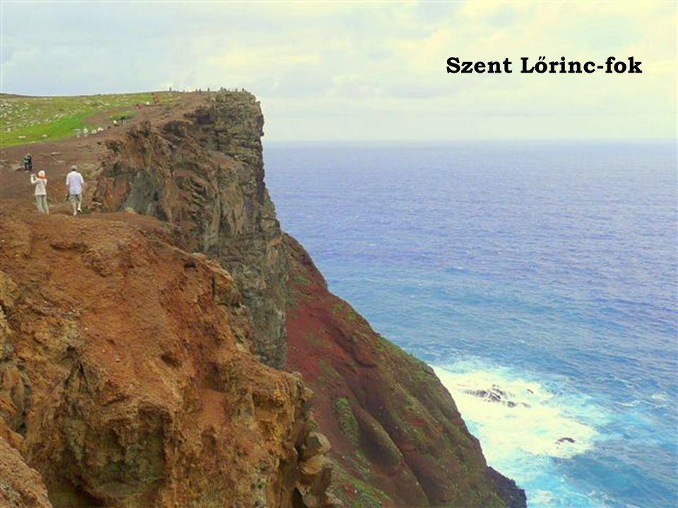 A Szent Lőrinc-fok színes sziklái