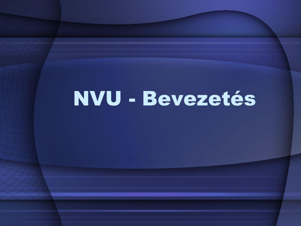 NVU - Bevezetés