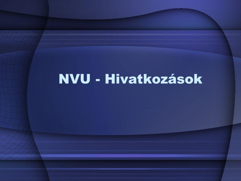 NVU - Hivatkozások