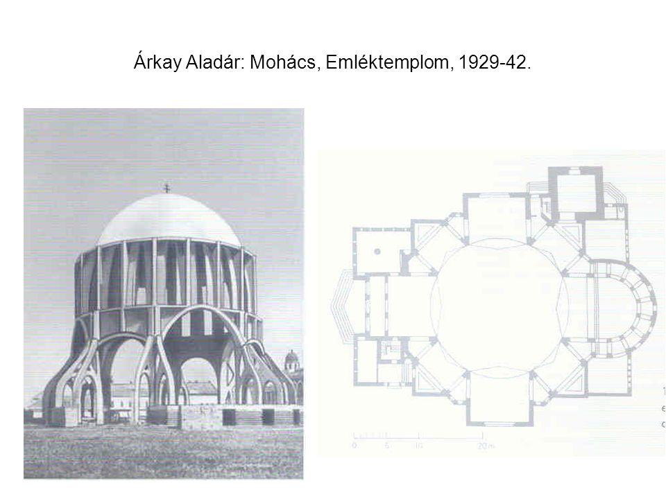 Árkay Aladár: Mohács, Emléktemplom, 1929-42.