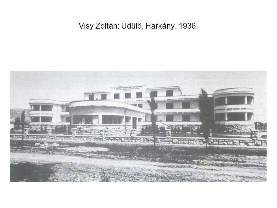 Visy Zoltán: Üdülő, Harkány, 1936.