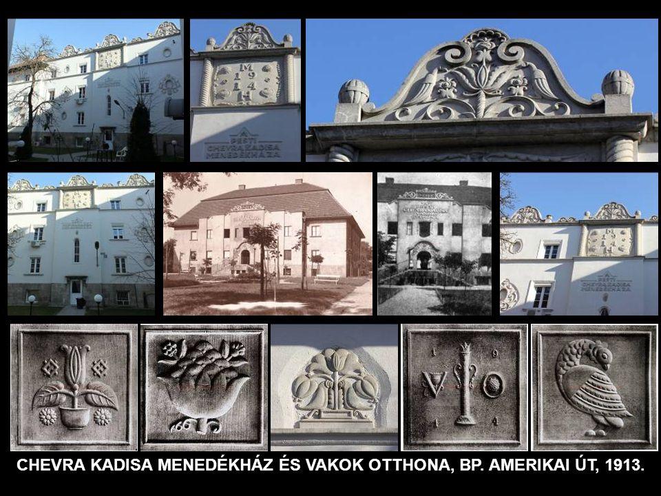 FELSŐ KERESKEDELMI ISKOLA BUDAPEST, VAS UTCA 1909-1913.
