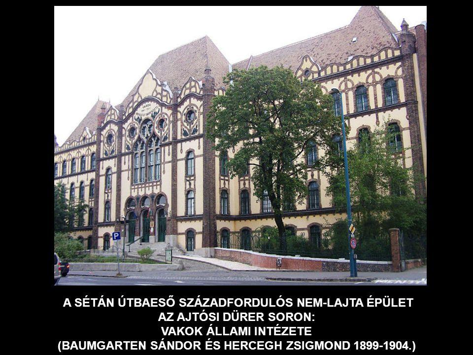 ÚJ MŰTEREM A DOHÁNY UTCAI LAKÁS UTÁN KÁLDOR-HÁZ BŐVÍTÉSE BUDAPEST, ILKA UTCA 1912-1914.
