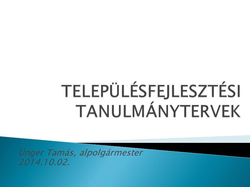 Unger Tamás, alpolgármester 2014.10.02.
