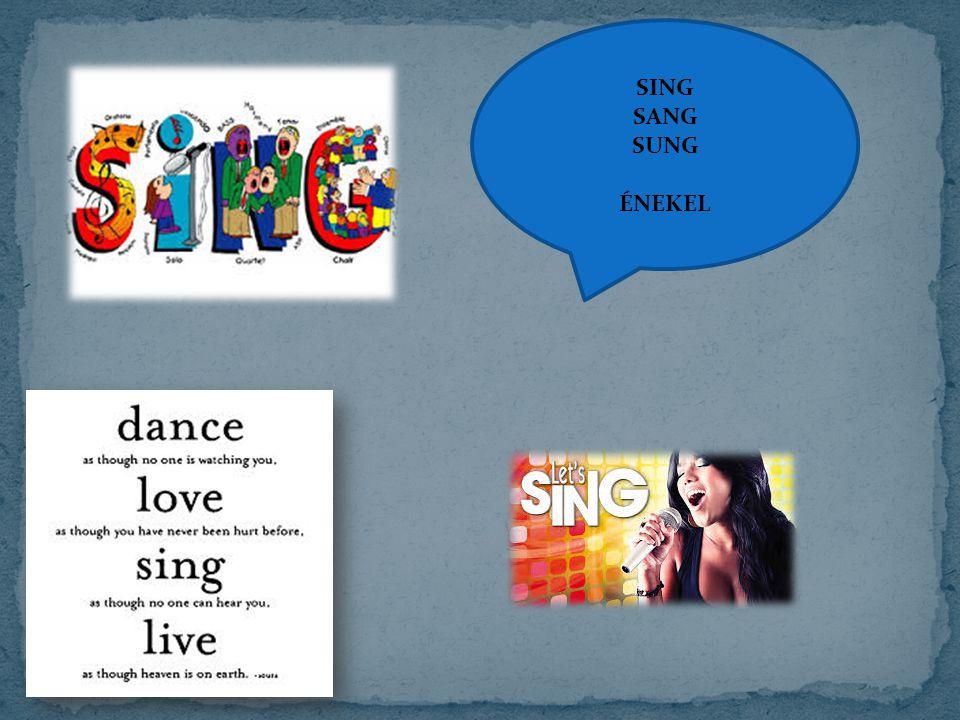 SING SANG SUNG ÉNEKEL