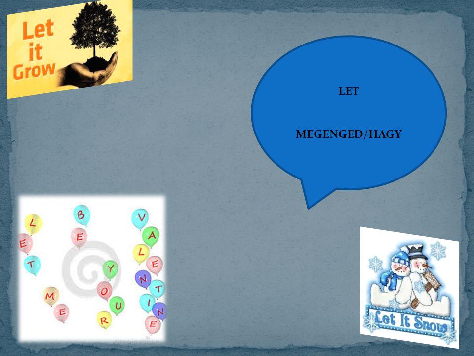 LET MEGENGED/HAGY