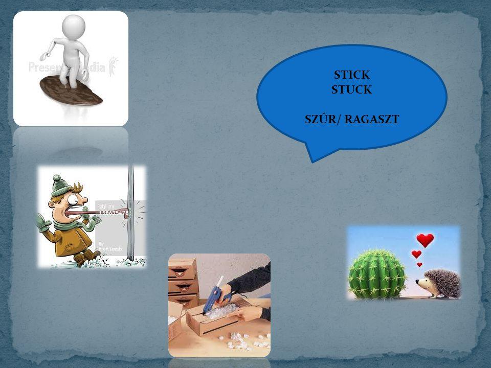 STICK STUCK SZÚR/ RAGASZT