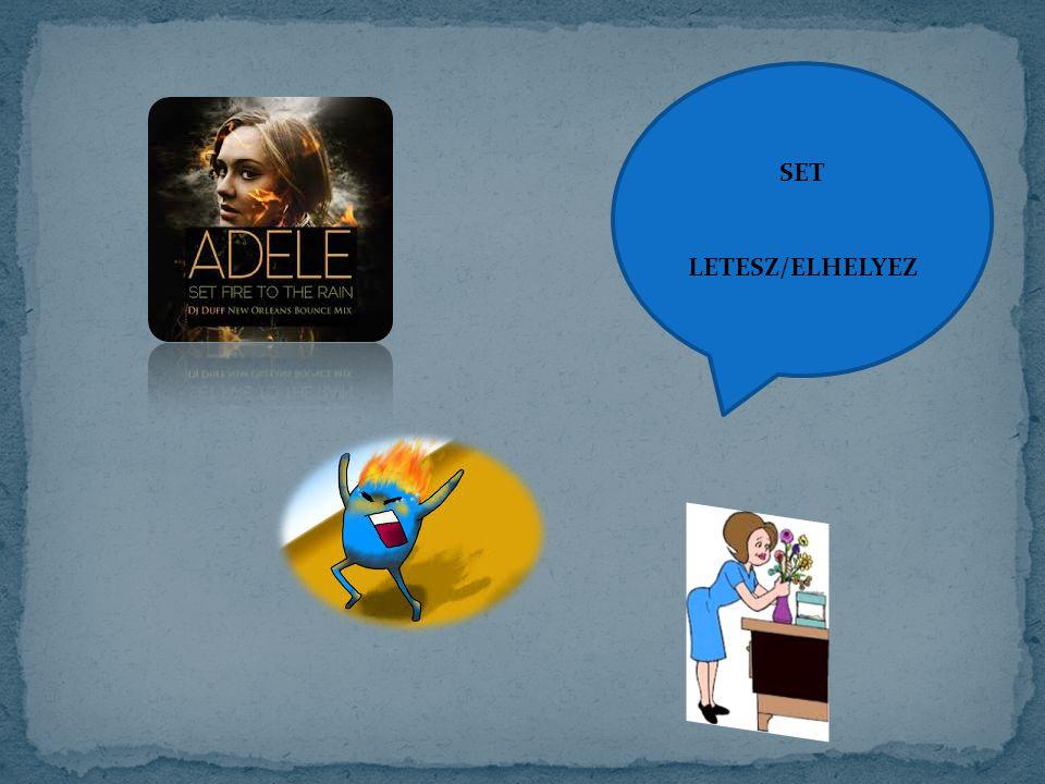 SET LETESZ/ELHELYEZ