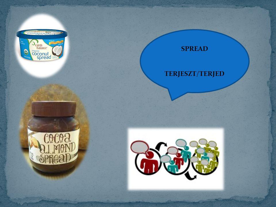 SPREAD TERJESZT/TERJED