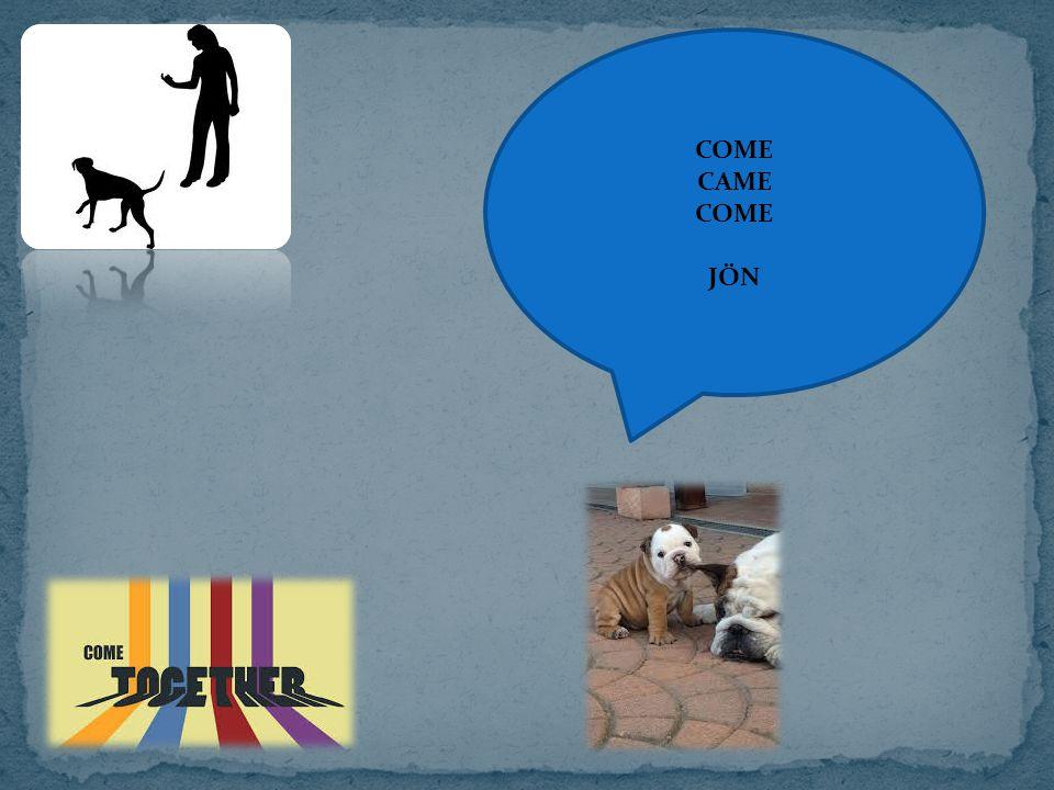 COME CAME COME JÖN