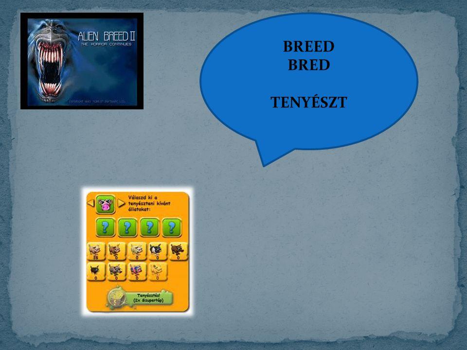 BREED BRED TENYÉSZT