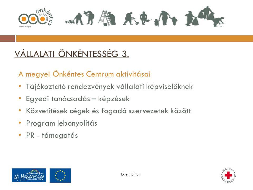 VÁLLALATI ÖNKÉNTESSÉG 3.
