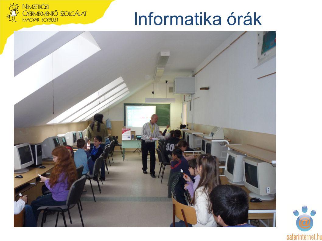 Informatika órák