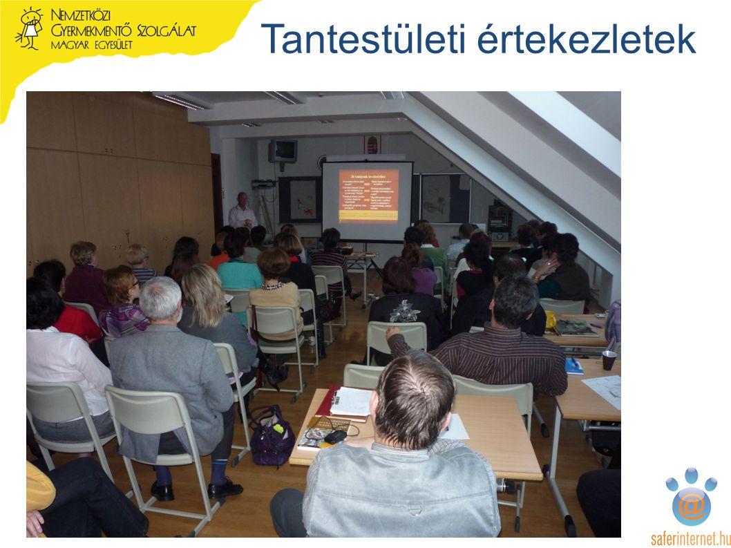 Tantestületi értekezletek