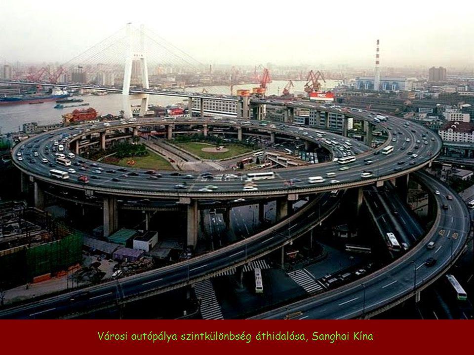 Japán városi autópálya-építészet megoldásai