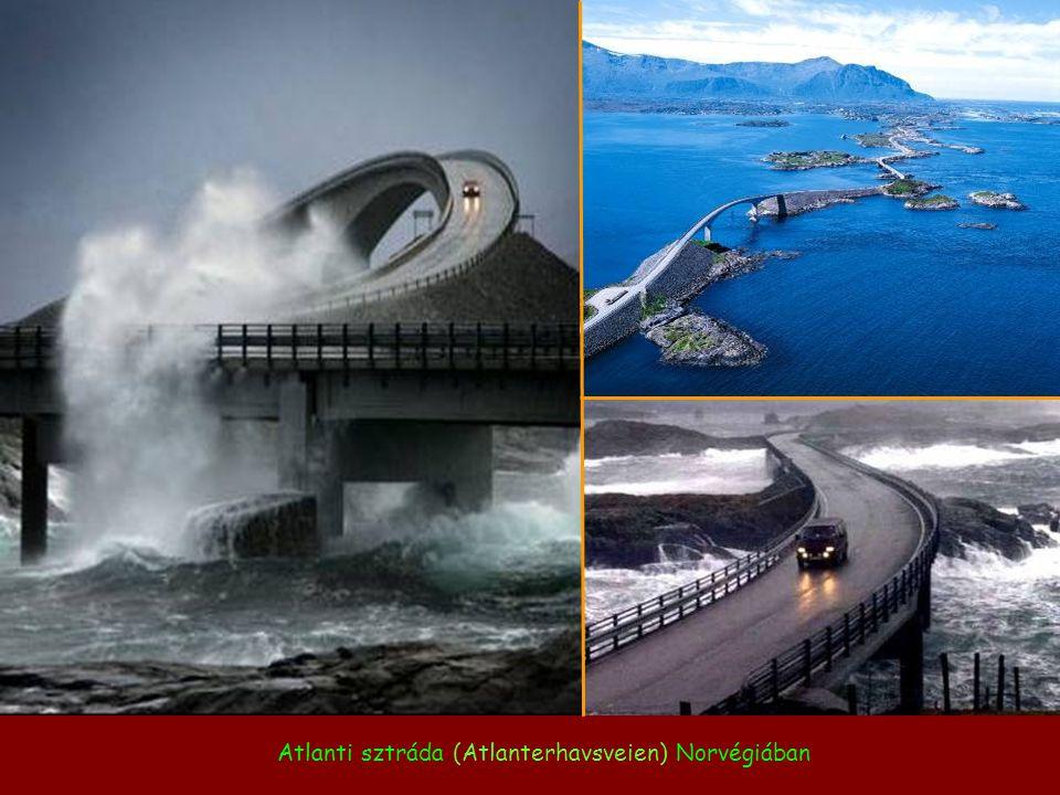 Atlanti sztráda (Atlanterhavsveien) Norvégiában