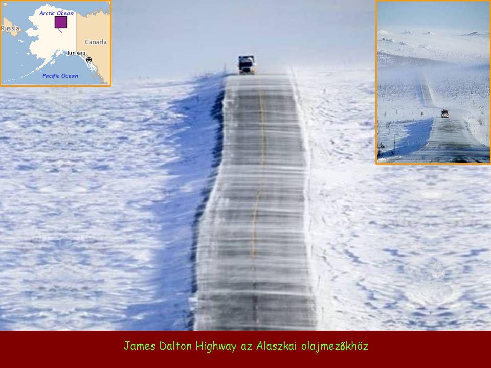 James Dalton Highway az Alaszkai olajmez ő khöz
