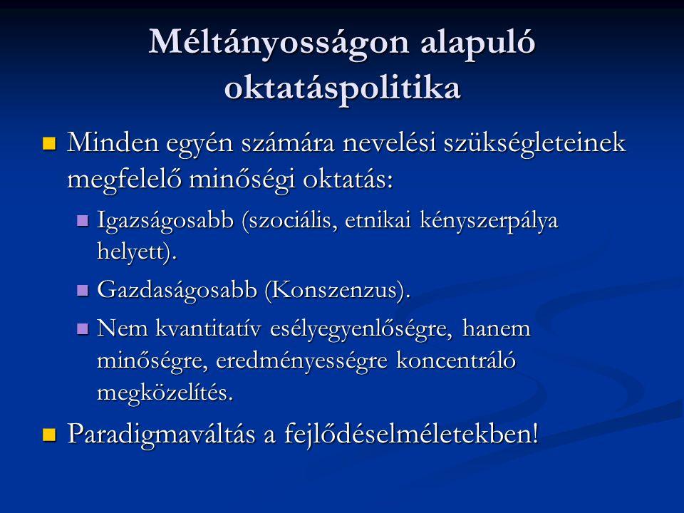 Eltérések Az anyanyelv és a többségi nyelv birtoklása Az anyanyelv és a többségi nyelv birtoklása A csoport kulturális sajátosságai; eltérés a többségi kultúrától A csoport kulturális sajátosságai; eltérés a többségi kultúrától Csoportkohézió; a többséghez való viszony Csoportkohézió; a többséghez való viszony