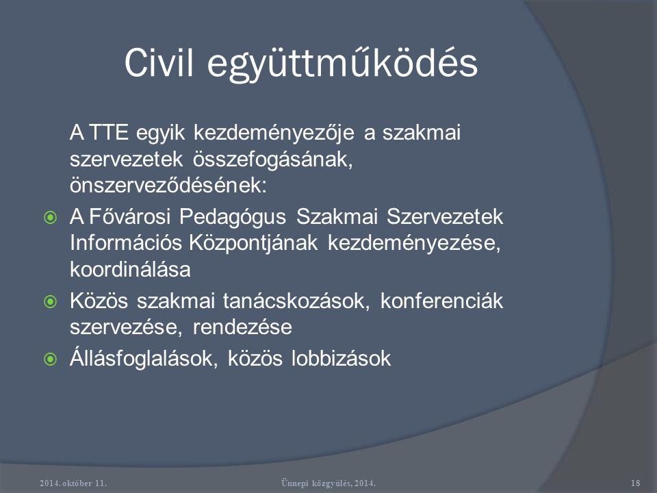 """Szakmai érdekképviselet  OKTV Történelem Bizottság (1995)  Az """"Ezeréves a Magyar Iskola"""" Emlékbizottság (1995-97)  Az alapműveltségi vizsga ún. leg"""
