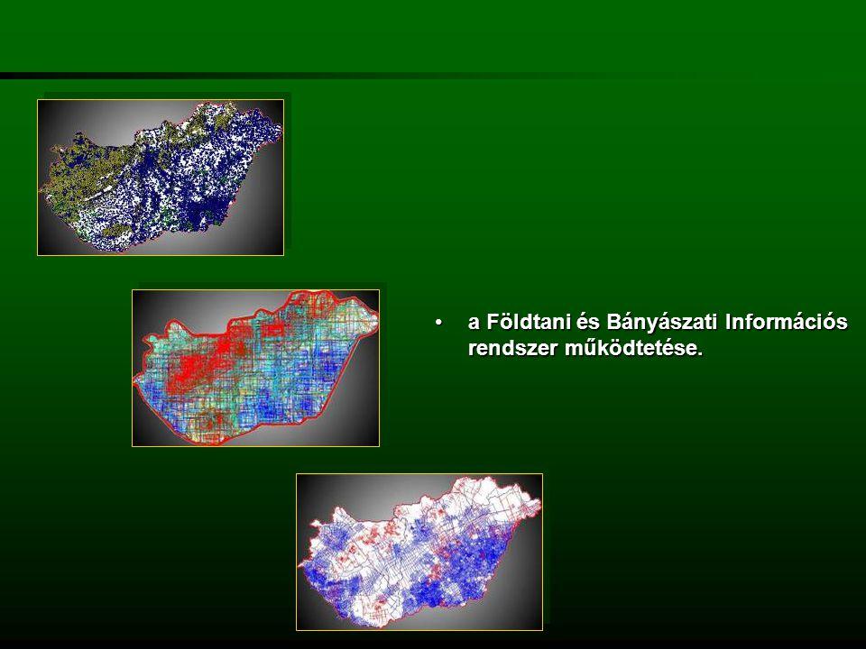 az országos ásványi nyersanyag és geotermikus energiavagyon nyilvántartás vezetése, ebből adatszolgáltatás és igazolás kibocsátásaaz országos ásványi nyersanyag és geotermikus energiavagyon nyilvántartás vezetése, ebből adatszolgáltatás és igazolás kibocsátása