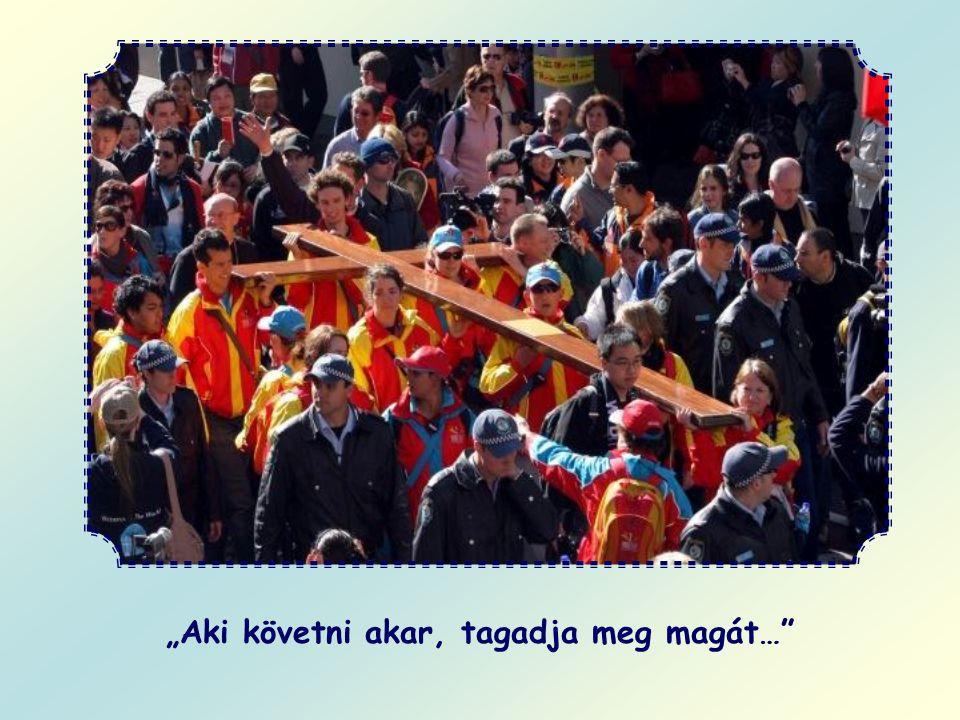 Vajon merre menjünk tovább? Krisztus nyomdokait kell követnünk, azt az utat, amelyet földi életében kijelölt szavaival. Ma újra ezt mondja: